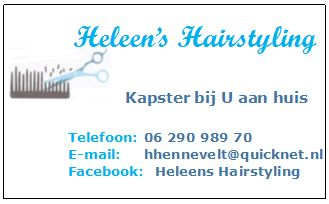 Heleen's Hairstyling
