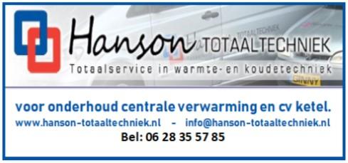 Hanson CV